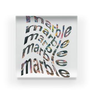 まーぶるmarble Acrylic Block