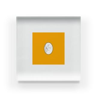 ゆでたまご Acrylic Block