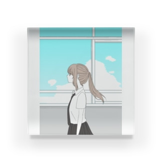 夏少女 Acrylic Block