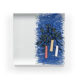 七夕 Acrylic Block
