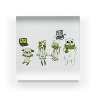 キャラクター集合 Acrylic Block