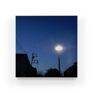 夜の青空の夜の青空0090 Acrylic Block
