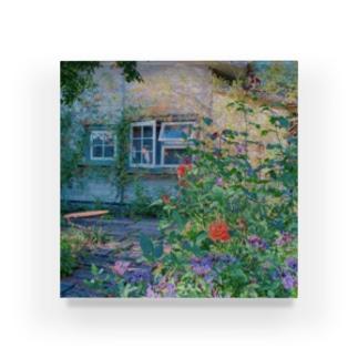 ガーデンカフェ Acrylic Block