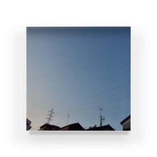 夜の青空0093 Acrylic Block