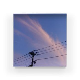 夜の青空0057 Acrylic Block