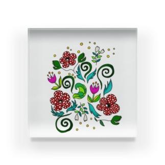 不思議な植物 Acrylic Block