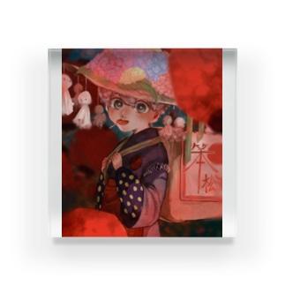 梅雨 Acrylic Block