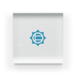 仁志路島ロゴグッズ Acrylic Block