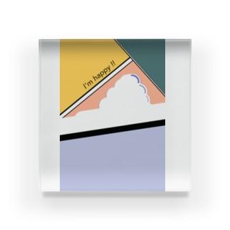 クラウド2 Acrylic Block