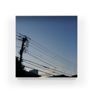 夜の青空の夜の青空0095 Acrylic Block