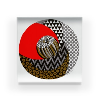 柄椿1 Acrylic Block