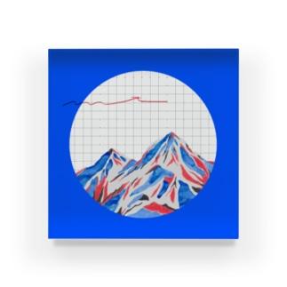 mt. bule , 2020 Acrylic Block