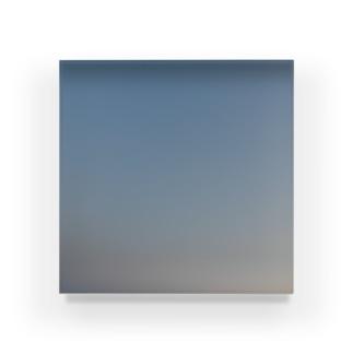 夜の青空0099 Acrylic Block