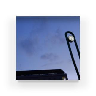 夜の青空0100 Acrylic Block