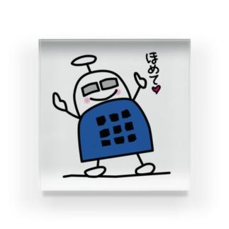 ブロックロボット・うーたーまん Acrylic Block
