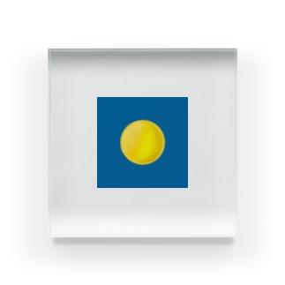 【お月さま】 Acrylic Block