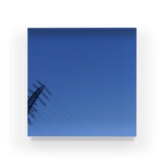 夜の青空の夜の青空0102 Acrylic Block