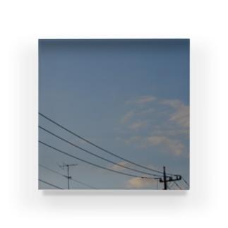 夜の青空0104 Acrylic Block