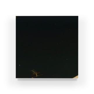 夜の青空0105 Acrylic Block