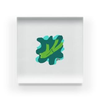 dorochanのかえるのジェイコブスン Acrylic Block