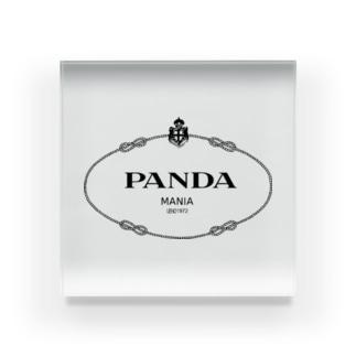 panda mania Acrylic Block