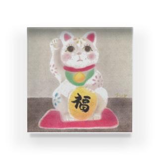 Fumiko💫の招き猫 Acrylic Block