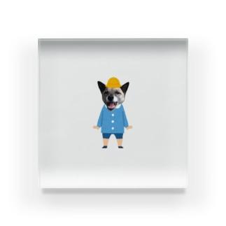 いちごちゃん(幼稚園児バージョン) Acrylic Block