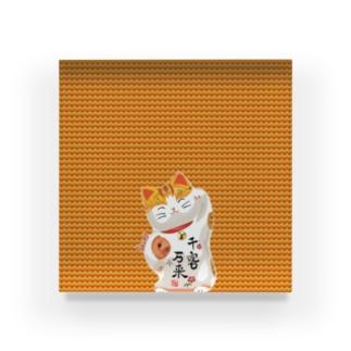 Lucky Cat Acrylic Block