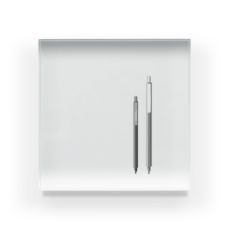 早川。のフェイクペンシリーズ Acrylic Block