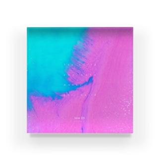mmukのショップのJune25-日付あり- Acrylic Block
