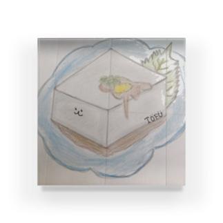 ToFuちゃん Acrylic Block