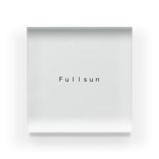 Simple Fullsun Acrylic Block