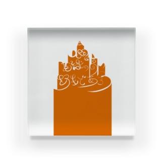 [#人間は意識の高い野性であろう]01 Acrylic Block