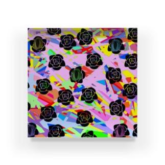 多角的擁護 Acrylic Block