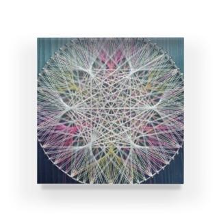 蓮の花 Acrylic Block