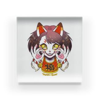 妖気な福ちゃん Acrylic Block