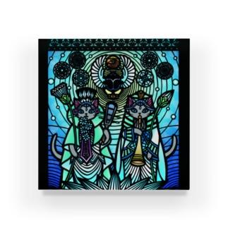 きりえCATSシリーズ(羊の刻) Acrylic Block