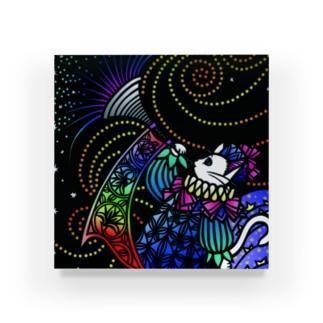 きりえCATSシリーズ(星のラッパ) Acrylic Block