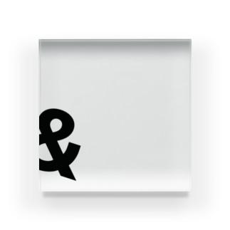 安藤優也-ando yuya-🍊の&アクリルブロック Acrylic Block