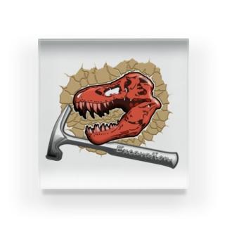 ティラノサウルス【発掘ver】 Acrylic Block