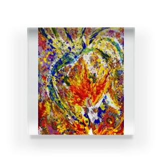 九尾 Acrylic Block