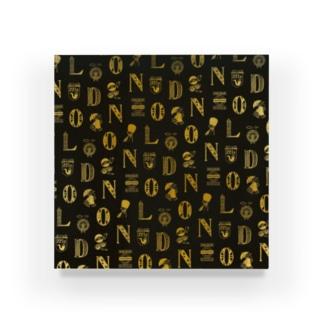 世界のまち - イギリス、ロンドン (ゴールド) Acrylic Block