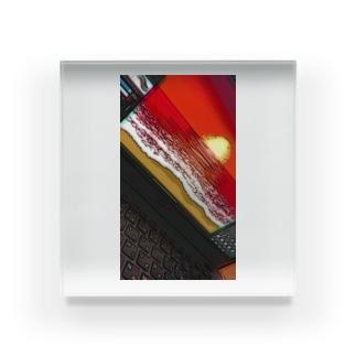 赤い海 Acrylic Block