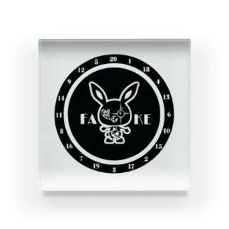 ファビット君⑦ Acrylic Block