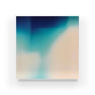 あお。 Acrylic Block
