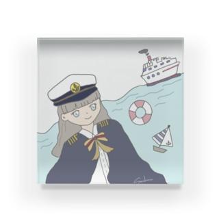 Captain Sachun Acrylic Block
