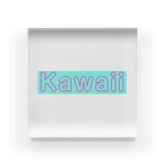 Kawaii Acrylic Block