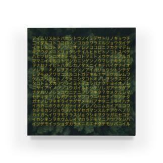 モンジョ 森 Acrylic Block