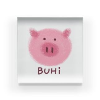 BUHi(ブヒ) Acrylic Block