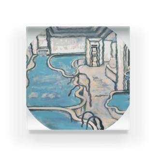 ゆれる浴室 Acrylic Block